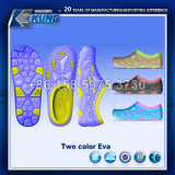 Самая новая двойная прессформа тапочки ЕВА цвета для горячий продавать