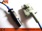 Sensor da ponta SpO2 de Clip&Soft do dedo de Spacelabs 90651A-08, 10FT