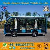 Киец 11 Seater с шины дороги Enclosed электрической Sightseeing для туриста