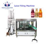 La alta calidad precio muy competitivo, botella de vidrio automática Monoblock de caña de azúcar de uso doméstico de la máquina de llenado de jugo de frutas