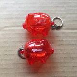 L'argent de l'enregistrement Boîte en plastique avec OEM pour cadeau de promotion de la marque
