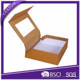 Contenitore impaccante di copertura superiore del regalo di carta strutturato rigido del profumo