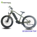 bici de montaña eléctrica ocultada 48V de la batería de 750W Ebike