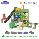 Concrete Qt4-15c PLC Control Cement Block Machine with Good Service