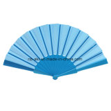 Le bois plastique/Vente chaude en bois nouveau Design Fashion Promotion de la publicité promotionnelle pliable ventilateur de la main de pliage