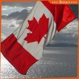 Su ordinazione impermeabilizzare e bandiera nazionale del Canada della bandiera nazionale di Sunproof