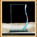 Competición para el trofeo en blanco de encargo del vidrio cristalino