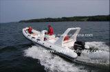 Nervature gonfiabili rigide di sport del crogiolo di barca della nervatura della Cina 6.6m Hypalon