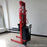 2017 Nuevo 1,5 ton Semi eléctrico apilador eléctrico apilador Manual Carretilla elevadora hidráulica