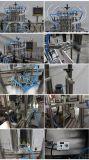 Quatro cabeças automáticas que engarrafam a máquina de enchimento líquida para os produtos químicos (YT4T-4G1000)