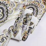 Tela hecha punto 2018 rayas de la materia textil de Tongxiang Tenghui