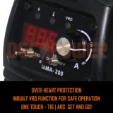Arc IGBT DC стали Инвертор сварочного аппарата сварочный аппарат с левой инструментальной плиты