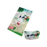 La conception de lapin 22,5*48 cm un super absorbants Kids Bandana (YH-HS444)