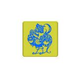 Logo personnalisé PVC Forme ronde Fridge Magnet pour les cadeaux