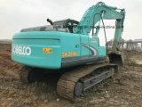 Verwendeter Kobelco Sk210 Gleisketten-Exkavator Kobelco 21ton Exkavator