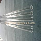 De opgepoetste het Verwarmen Duidelijke Buis van het Glas van het Kwarts