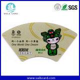 주문을 받아서 만들어진 디자인 Unstandard PVC 카드