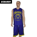 Mode Cusotmized ordinaire'équipe masculine de basket-ball Sports Wear (BK028)
