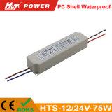 12/24V von 20W zu 100W imprägniern LED-Stromversorgung Hts-Serien