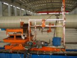 Cilindro del tubo del tubo de FRP GRP que hace la máquina de enrollamiento del filamento del CNC de la máquina