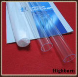 Удалите озона без трубки трубки из кварцевого стекла с предохранителем