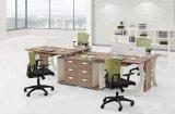 사무실을%s 현대 유행 멜라민 알루미늄 합금 행정상 편리한 책상