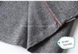 高品質方法服の緩い円カラー縞のニットの服