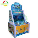 Il campo da giuoco dell'interno di divertimento scherza la fucilazione di pesca dello spingitoio della moneta che corre la macchina del gioco per i bambini