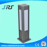 Indicatore luminoso solare del giardino dell'acciaio inossidabile di alta luminosità con Lampeshade di vetro
