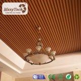 techo compuesto interior del PVC del material WPC de la decoración de 100*50 milímetro