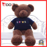 Dom Dia Chirdren Customized Big Giant Plush urso castanho