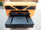 Fokus-industrieller waagerecht ausgerichteter UVdrucker Basisrecheneinheit-Strahl für Feder, Telefon-Kasten, CD, Holz