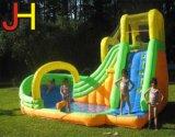 子供の遊ぶことのためのカスタマイズされた膨脹可能な水スライド