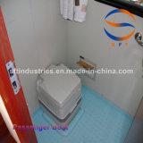barco de pasajero del 14.28m China con la carrocería del barco de la fibra de vidrio