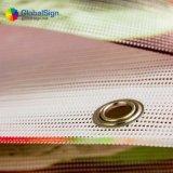 10oz 1000d PVC上塗を施してある網の旗のビニールの網の旗
