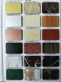 Carte composée en aluminium de couleur de panneaux d'ACP de plastique de couche de PE et de PVDF