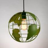 Iluminación de interior en la lámpara pendiente de la lámpara de aluminio para la decoración