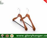 Hanger van het Kostuum van de Luxe van de hoogste Kwaliteit de Houten met de Staaf van de Broek