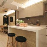 Kingkonree personalizou a parte superior de mármore de pedra do console de cozinha de quartzo