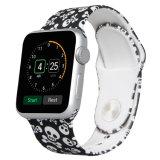 Los patrones de diseño OEM de la banda de reloj de silicona para Apple