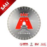 Blad van de Zaag van de Diamant van het Asfalt van de Distributie van de Diamant van de Technologie van de zilveren-las het Diepe Professionele