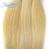 Волос девственницы человеческих волос выдвижения 100% прямых волос бразильских белокурые