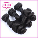 一等級の緩い波のブラジルの人間の毛髪の織り方、毛の拡張、毛の拡張束