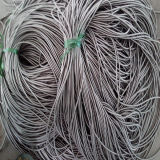 Conduit enduit gris de PVC d'acier inoxydable