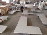 P008 белый кварцевый с высокой кухни Quality-Countertop Miter кромки рабочую поверхность верхней панели