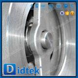 Teste 100% Didtek CF8m em aço inoxidável da Válvula de Retenção de bolachas de elevação