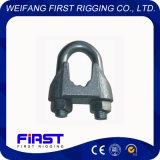 삭구 기계설비 가단성 강철 DIN1142 철사 밧줄 클립