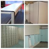 Anti-Impact duradero fácil de limpiar el laminado compacto panel interior de la Junta de HPL
