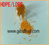 El 50% bruto de alta Masterbatch de color amarillo para la inyección de plástico producto