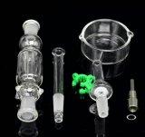 waterpijp van de Collector van de Nectar van de Pijpen van het Glas van 10mm/14mm/18mm de Rokende met Groothandelsprijs